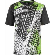 No Fear Core Graph T Shirt Mens Charcoal/Tyre