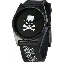 4dca4e700f3 Neff Barts World Daily Watch Black