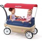 Step2 Vozík pro 2 děti