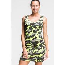 63905f77c4c3 Maskáčové dámské šaty Army Dress zářivě žlutá