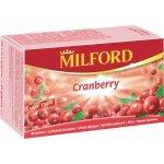 MILFORD ovocný čaj s přích. brusinky 20 x 2,3 g
