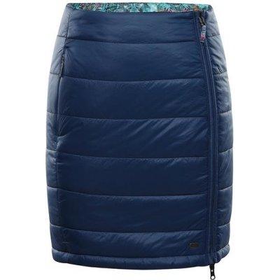 Alpine Pro Trinity 7 zimní sukně-oboustranná lsks258684pa modrá / tyrkysově modrá