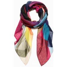 Desigual Dámský obdélníkový šátek Foul Mercury Rectangle 18WAWW38 multicolor b1c18505ae