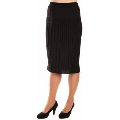 Dámská sukně M9872 plisé černá