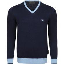 Armani Jeans elegantní svetr od Tmavě modrý