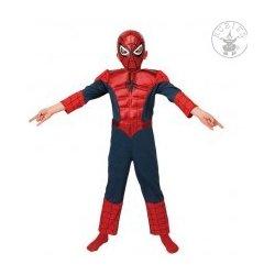 Dětský karnevalový kostým Spiderman Deluxe Metallic Child