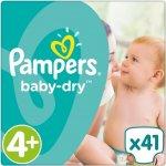 Pampers Baby-Dry 4+ jednorázové 41 ks
