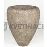 Polystone Rock Couple Rough 60x75cm