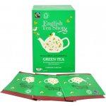 ETS Bio Fairtrade čistý zelený čaj 20 sáčků