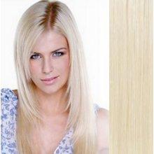 Vlasy pro metodu Pu Extension   TapeX   Tape Hair   Tape IN 40cm platina 3f6e286da8