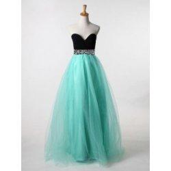 Dámské sexy formální dlouhé šaty bez ramínek modré alternativy ... 46045c9281