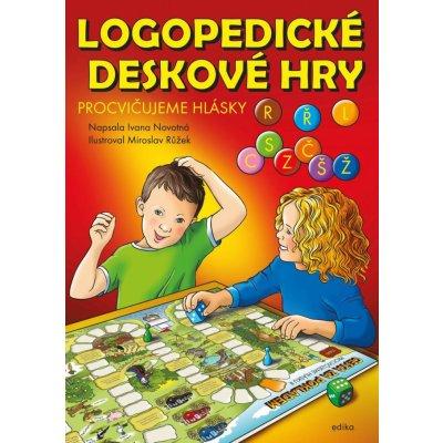Logopedické deskové hry - Ivana Novotná, Leporelo