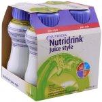 Nutridrink Juice Style s příchutí jablečnou por.sol. 4 x 200 ml