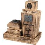 RaE přírodní kosmetika Luxusní limitovaná edice s vůní Santalového dřeva Tekutý 20% parfém 30 ml + Krémový deodorant 15 ml dárková sada