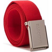 Lacoste Pánský pásek - RC2012 Red 240 d5e97cd042