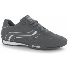 Lonsdale Camden Mens Trainers Grey/White