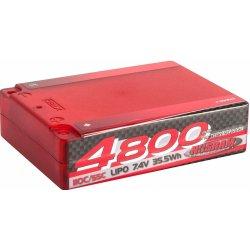 NOSRAM 4800 Square Pack 110C/55C 7.4V LiPo 1/10 Competition Car Line Hardcase Heureka.cz