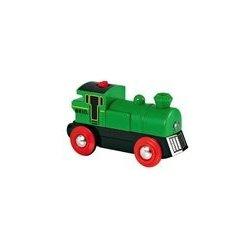 lokomotiva elektrická zelená na baterie