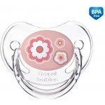 Canpol Babies Newborn baby šidítko silikon anatomické růžová