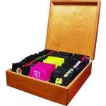 Biogena Dřevěná luxusní dárková kazeta čajů 90 sáčků