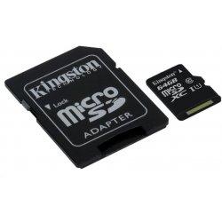 KINGSTON microSDHC 64GB UHS-I U1 SDCS/64GB