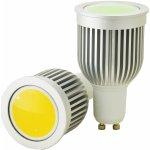 G21 LED žárovka GU10-COB 230V 5W 350lm Teplá bílá Stmívatelná GA-BY-1017-D