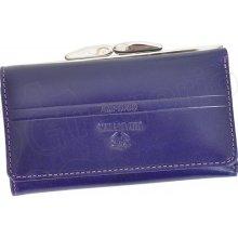 Emporio Valentini 563 PL10 fialová dámská kožená peněženka