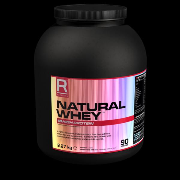 Výsledek obrázku pro Reflex Nutrition Natural Whey 2,27kg