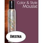 Omeisan Color & Style Mousse tužidlo (švestka) 200 ml