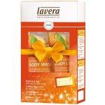 Lavera BIO Pomeranč BIO Rakytník sprchový krém 150 ml + tělové mléko Body Spa 150 ml dárková sada