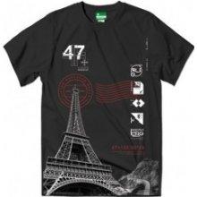 LRG Elevated Eiffel Tee Black tričko
