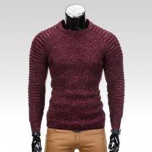 Stephane Pánský zimní svetr tmavě červený