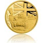 Česká mincovna Zlatá mince Válečný rok 1942 Bitva u El Alameinu 3,11 g