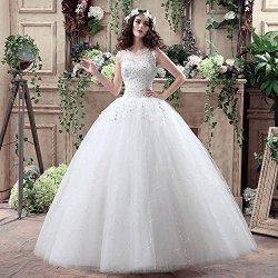 Dlouhé luxusní svatební šaty se štrasovými kytičky na ramínka pro  plnoštíhlé nevěsty bílá 8b3921c47d