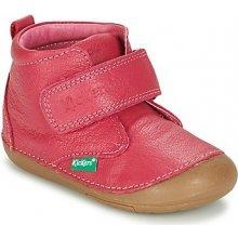 Kickers Kotníkové boty Dětské SABIO Růžová