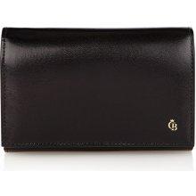 Castelijn & Beerens Dámská kožená peněženka 442121 ZW černá