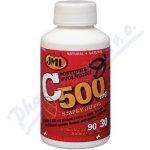JML Vitamin C tablety spostupným uvolňováním s šípky 120 x 500 mg