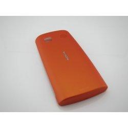 Kryt na mobilní telefon Kryt Nokia 500 zadní oranžový