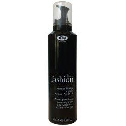 Lisap Fashion Mousse Design Regular Keratin & Argan Oil pěnové tužidlo se silným účinkem s arganovým olejem a keratinem 250 ml