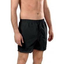 Aqua-Speed Thomas pánské plavecké šortky černé-zelené