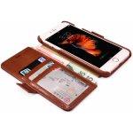 Pouzdro iCarer Vintage Wallet Case iPhone 6/6S hnědé