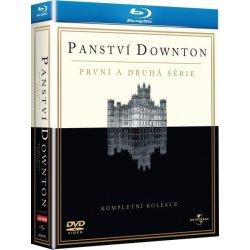 PANSTVÍ DOWNTON 1 + 2 Kolekce Blu-ray