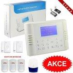 Bezdrátový LCD GSM alarm systém PREMIUM I