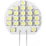 Whitenergy Led žárovka, 21xSMD, 1W, G4, Teplá bílá 60Lm 3000K