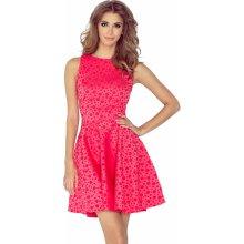 Numoco společenské a plesové exkluzivní šaty s kolovou sukní malinová 3987753056