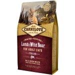 Carnilove Cat Lamb & Wild Boar Adult Sterilised 6 kg