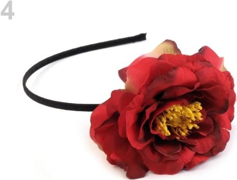 Čelenka do vlasů s květem korálová sv. 1ks alternativy - Heureka.cz 63009b999c