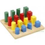 Montessori C223 Žebřík geometrická tělesa