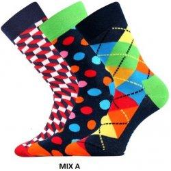 Lonka ponožky Woodoo mix A - 3 páry