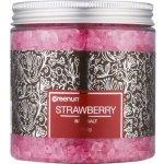 Greenum Strawberry koupelová sůl 600 g